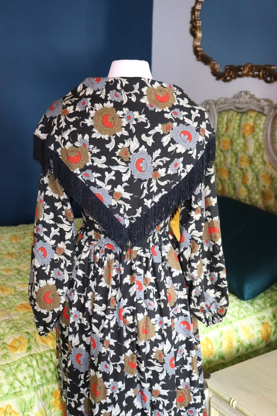 1970s Prairie, CottageCore, Cotton Floral dress |… - image 6