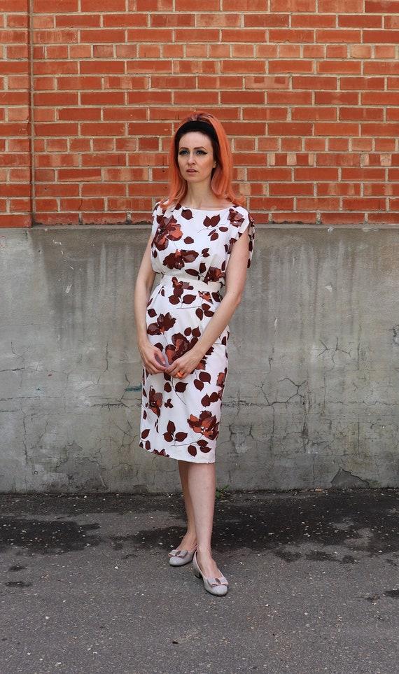 1960s Wiggle Dress | Small