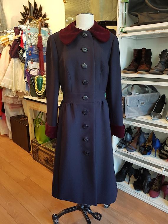 1960 Sig Plach Princess Coat | S-M