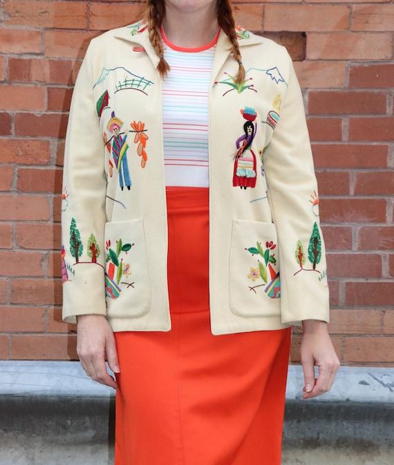Vintage  Mexican Tourist Jacket | Small - Medium