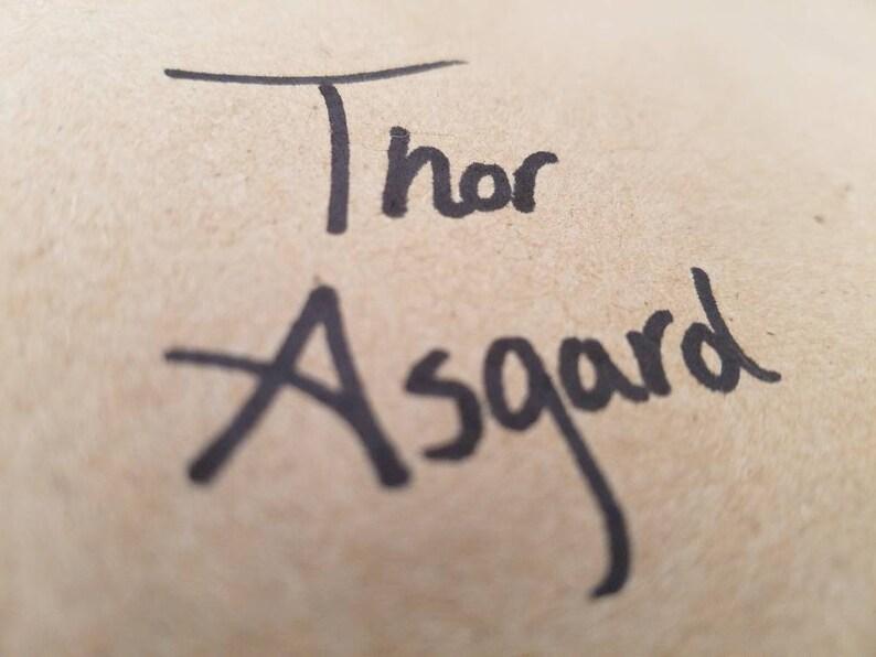 asgard writing a letter