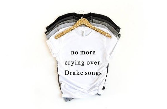 Custom - no more crying over Drake songs