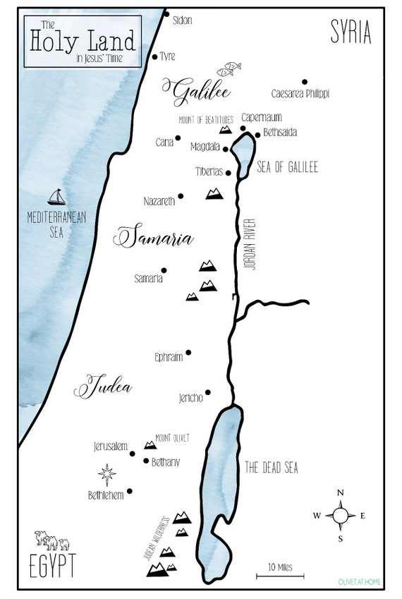 Map of Israel (The Holy Land in Jesus' time) Map Israel Jesus Time on israel palestine in jesus time, israel in jesus day, jerusalem in jesus time, bethlehem inn in jesus' time, israel maps from biblical time, israel in bible times, galilee in jesus time, israel bible jesus, capernaum in jesus time, old jerusalem israel jesus' time, the world during jesus' time, jerusalem map at jesus time, bethlehem during jesus' time, israel at time of the christ,