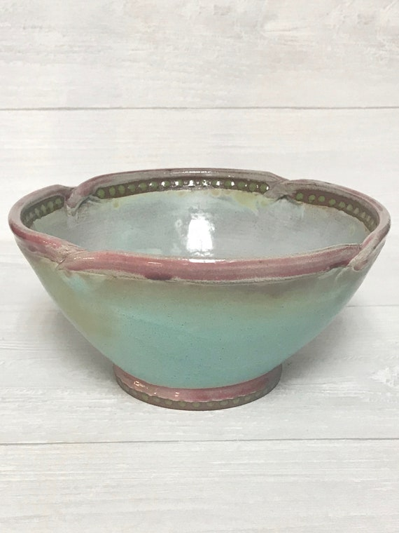 Side dish bowl/Serving bowl/Handmade bowl/Ceramic bowl/Hostess gift