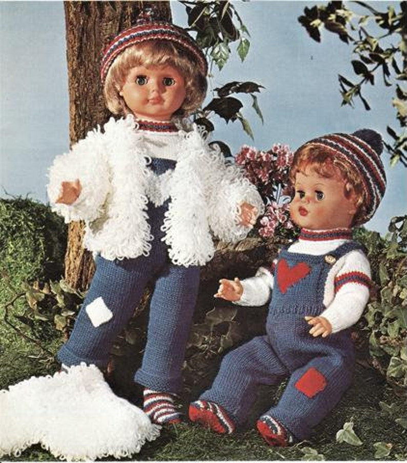 hat Instant Download pdf 20 Inch Doll Double Knitting doll knit sweater socks Dolls Jacket Nearly Free Doll Clothes Knitting Pattern