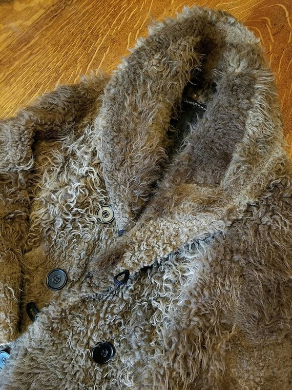 UNBELIEVABLE 1870s Bison (American Buffalo) Coat