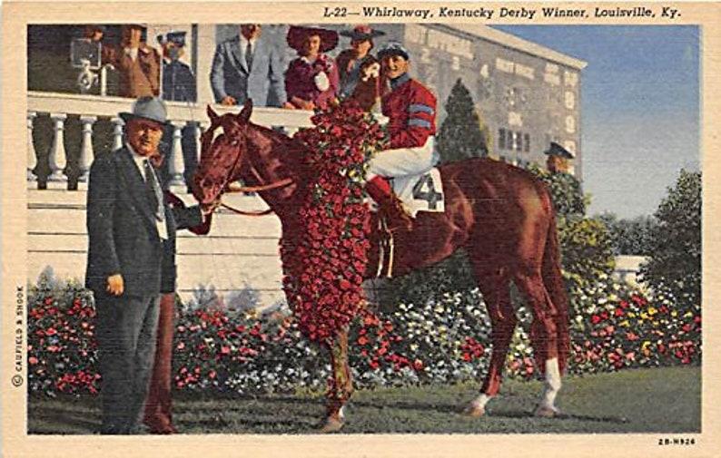 SWINGIN/' Vintage Kentucky Derby bow tie