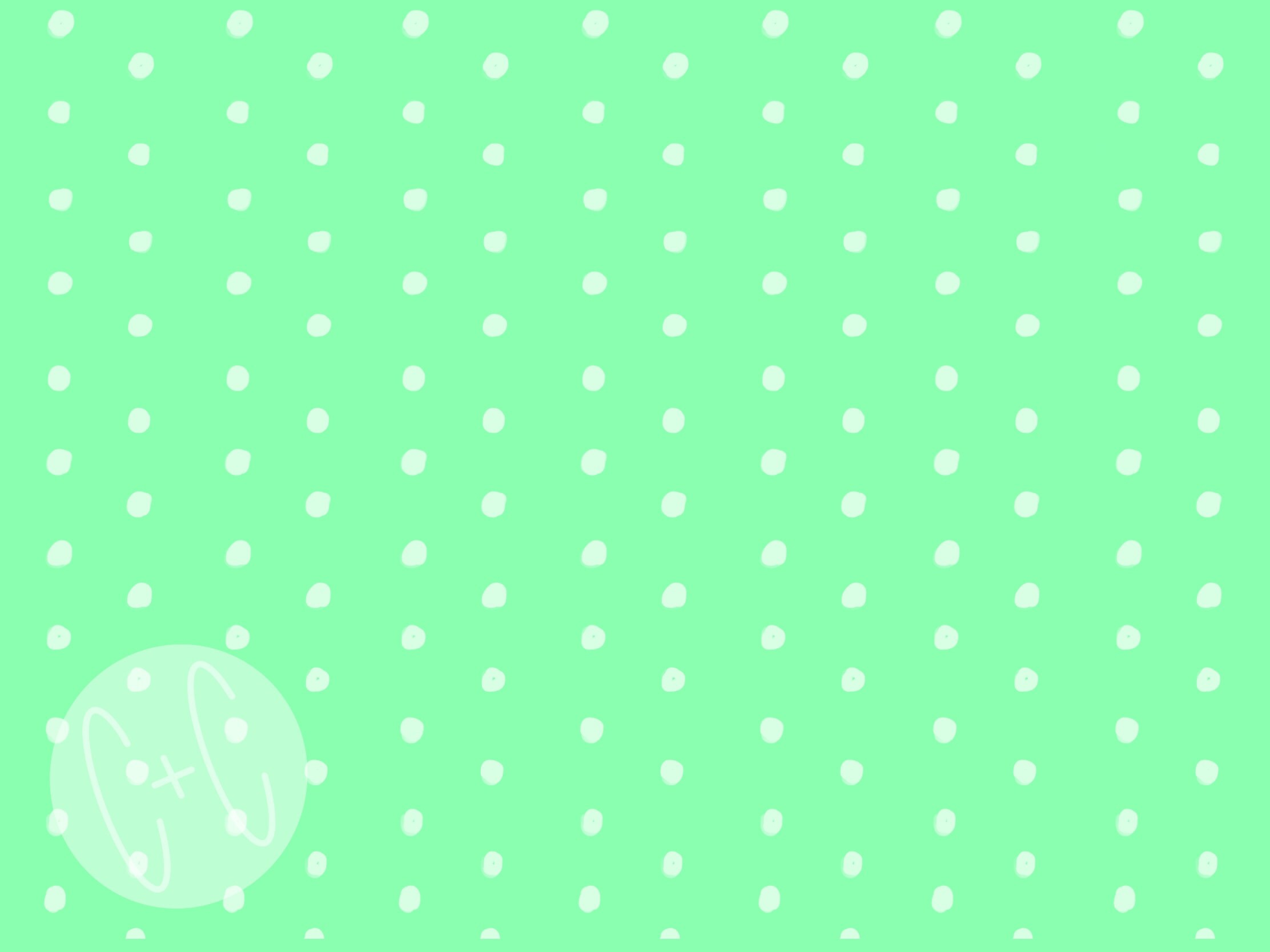 Background Green Dot png clipart digital download