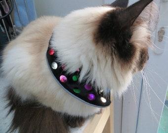 PROTECT BIRDS  Safe for Cats Break Free Collar Reflective Trackable helps birds REG.Design # - 6084012