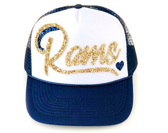 Rams Trucker Hat - Women s Rams hat f72d96856e63