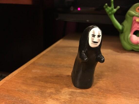 No Face Spirited Away Studio Ghibli Hand Made Sculpture Etsy