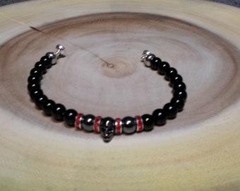 Satanic bracelet | Etsy