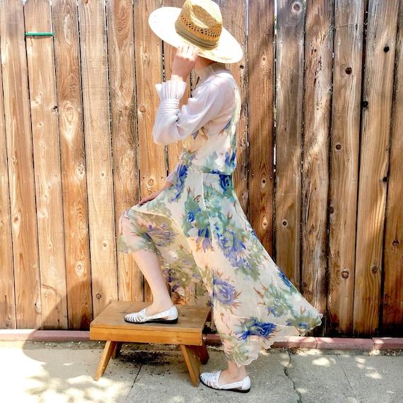 Mary Green San Francisco Silk Georgette Dress