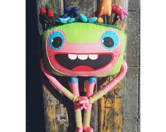 Pluche speelgoed net als Tully van Baby TV | Etsy