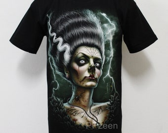 480aa02c3e951e Skull Girl Tattoo T-Shirt