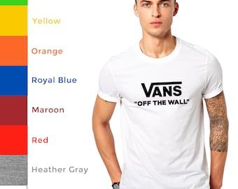 1988415877782f Mens T Shirt Vans of the Wall skateboarding Birthday Anniversary Gift Tee T  Shirt