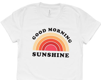 Sunshine Sunny Retro Throwback Outdoor Summer Short-Sleeve Unisex T-Shirt