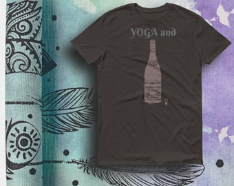 45355b20 Funny yoga shirt, UNISEX,Yoga Top, Yoga Shirt,Yoga Clothes, Yoga  Wear,Spiritual Meditation,Zen Clothes, Gifts for YogaLovers