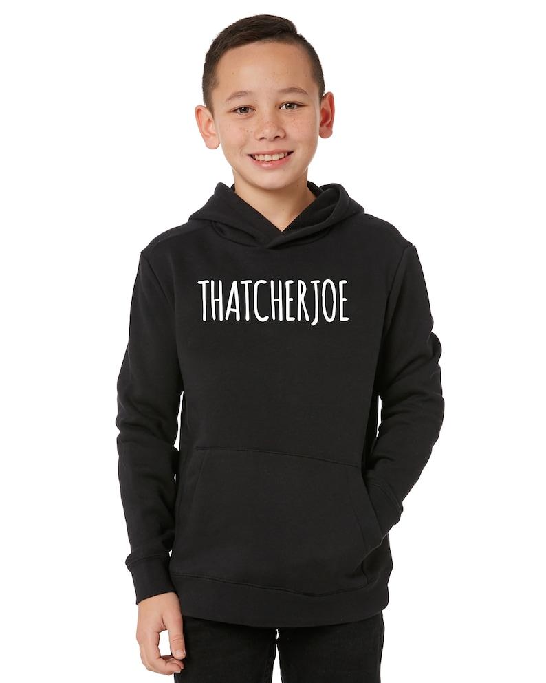 THATCHERJOE You Tube Hoodie Kids /& Adults Sizes