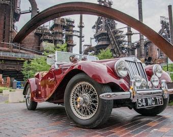 600374e56 1954 MG TF Convertible, Antique Car, Classic Car, Antique Convertible,  Classic Convertible, Convertible, 1954 MG