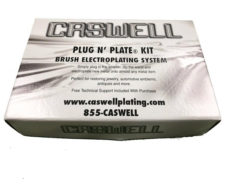 Caswell Plug N' Plate® Nickel Kit