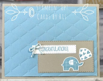 Congratulations Elephant Card