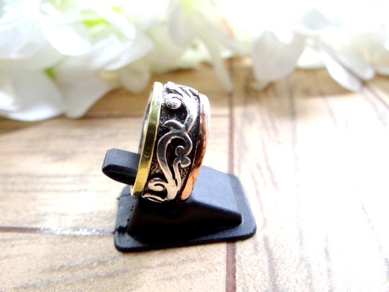 Silver Ring925 Silver RingSilver color ringstatement ringHandmade ringengagement ringgift for hergemstone ringgift for her.