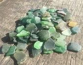 Bulk of 50-100 pieces craft quality mixed colors sea glass Size quot 0.6-0.8 quot art, mosaic making,jewelry, home decoration etc. (i19)