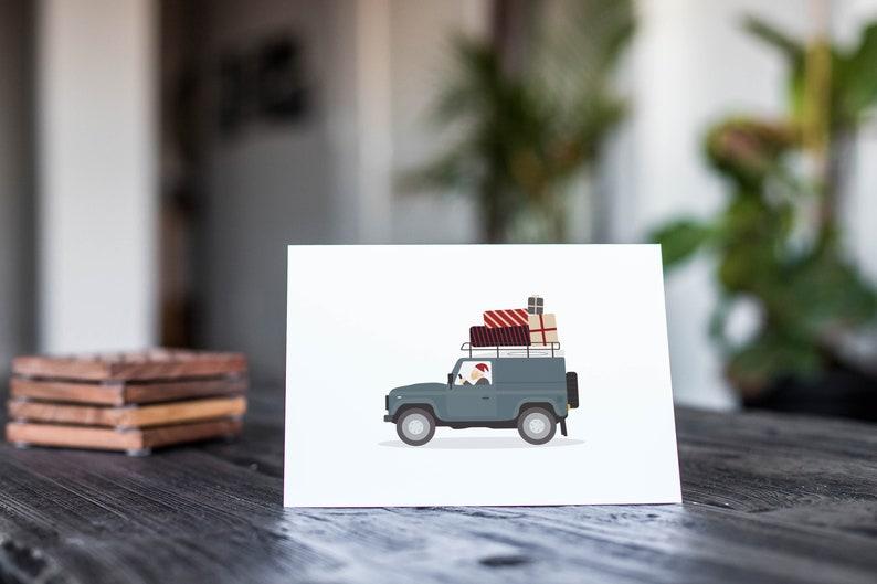 Echeveria A7 Greeting Card Mockup
