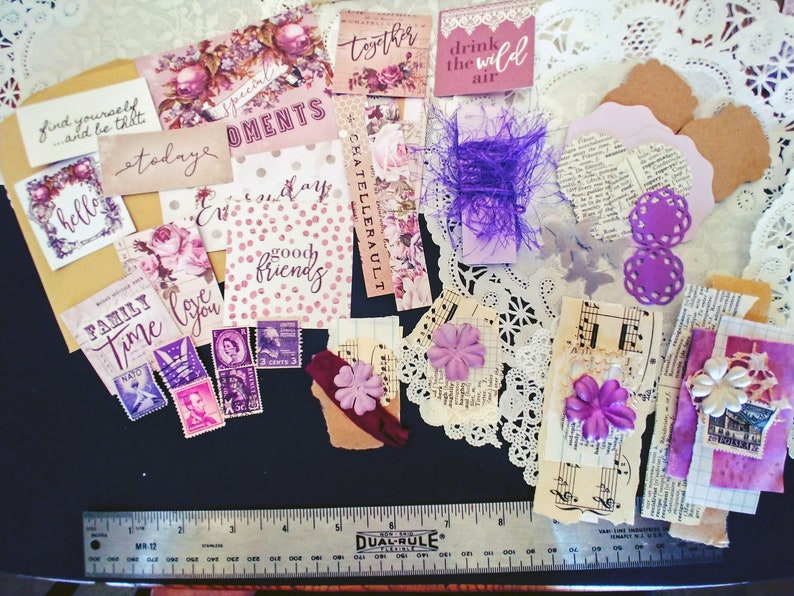 B6 Journal Constantly Growing With You Prima Lavender Collection