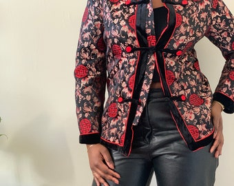 Asian blazer jacket | Etsy