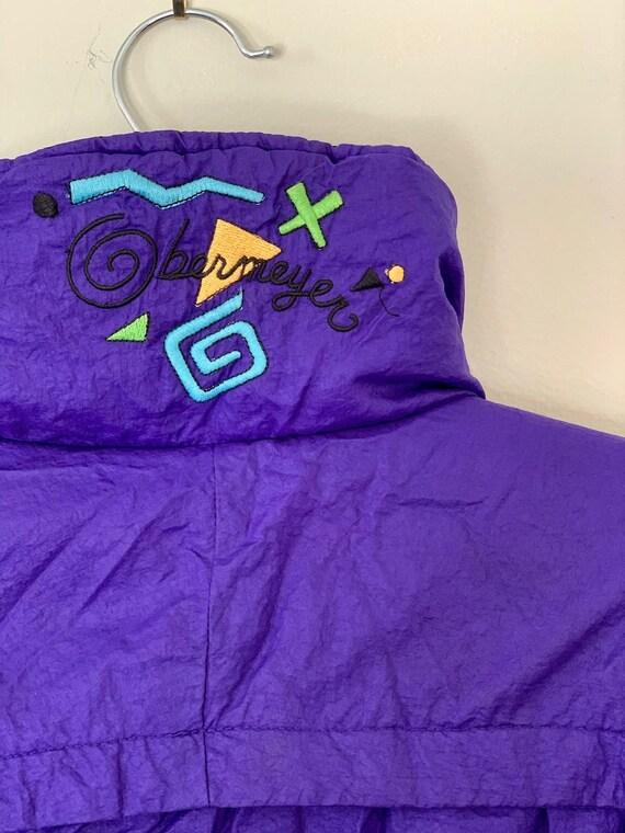 Vintage 80's Obermeyer Purple | Ski Coat | Short C