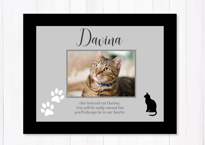 Pet Dog Cat Remembrance personalised hanging plaque shabby /& chic wooden sign