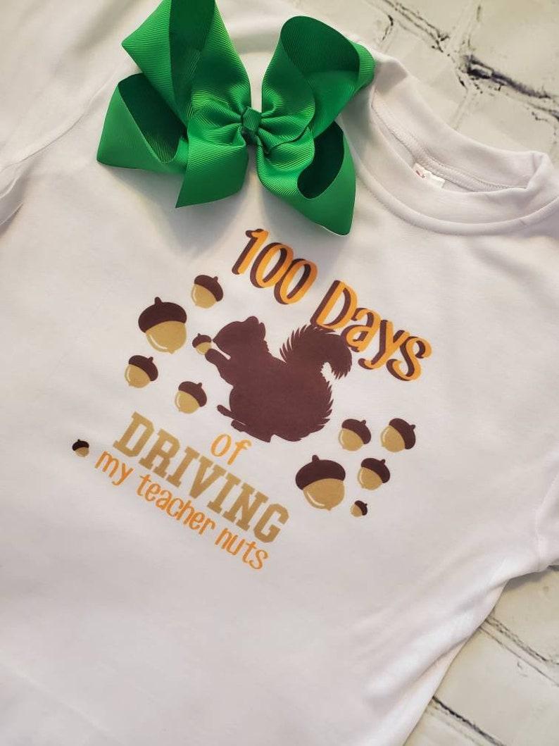 Kids Clothing 100 Days of School Shirt Back to School Shirt Birthday Shirts Unisex Kids Clothing Mild Stone Girl School Shirt