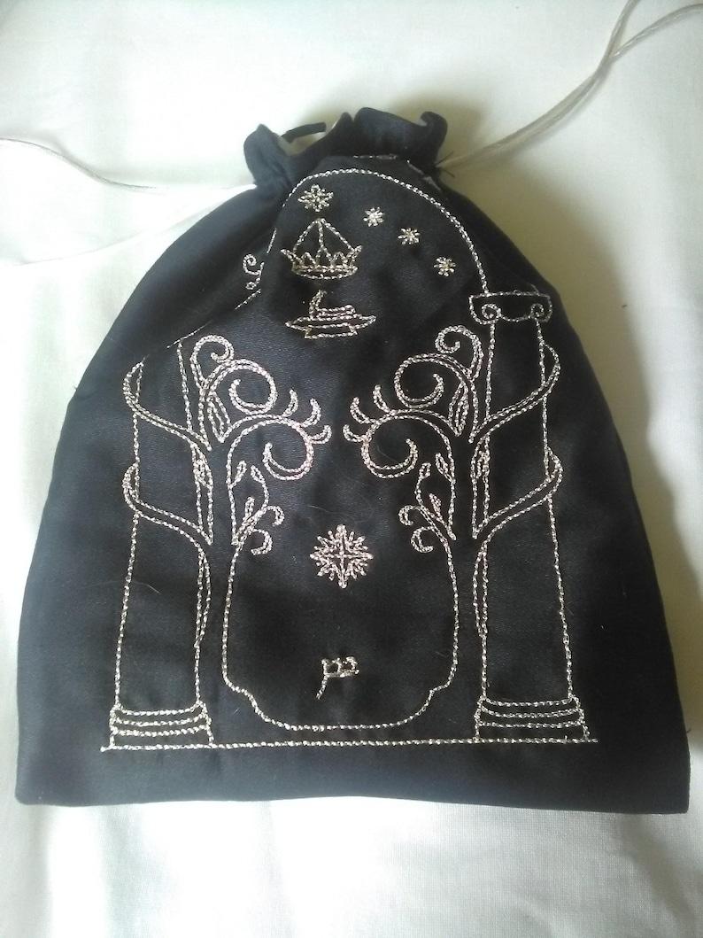 Drawstring Bag  Pouch  Rune Bag  Tarot Bag