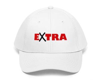 94fff7dbc9804 Extra - Unisex Twill Hat Cap