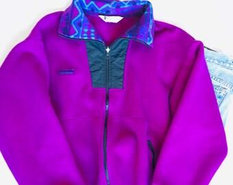 a30393544a31f0 Vintage Ladies  Columbia Fleece Zip-up