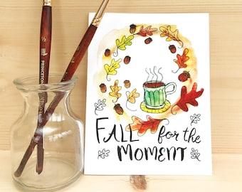 Fall Coffee Card