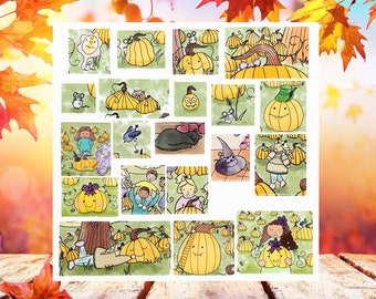 Pumpkinee Pumpkin Sticker Sheet