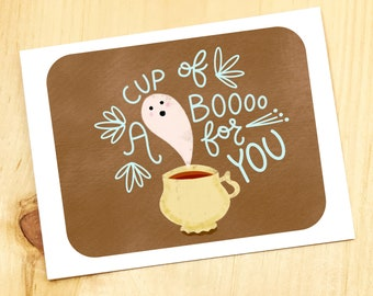 A cup of BOO!