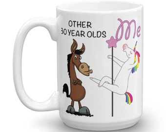 Funny 30th Birthday Gift Mug 30 Year Old Gifts Happy Bday Gag