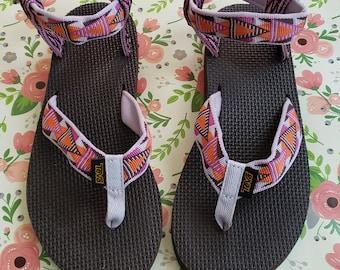 19e2b2236 Teva Sandals NWOB. Size 7