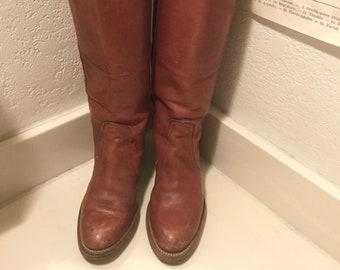6496fa5ac9168 Vintage frye boots | Etsy