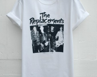 ba9427f5ff73 THE REPLACEMENTS T SHIRT Hardcore Punk Rock Alternative Band Graphic Unisex  Short Sleeve Exclusive