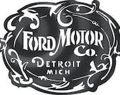 Ford Motor Sign Digital Vector .ai, .svg, .jpeg, .dxf