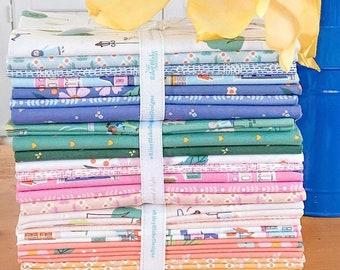 Half Yard Bundle COMMUNITY by Citrus & Mint Designs for Riley Blake Designs - 24 fabrics
