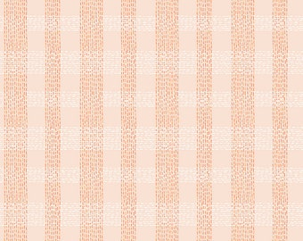 COMMUNITY by Citrus & Mint Designs of Riley Blake Designs - C11106 Plaid Blush - 1/2 Yard Increments, Cut Continuously