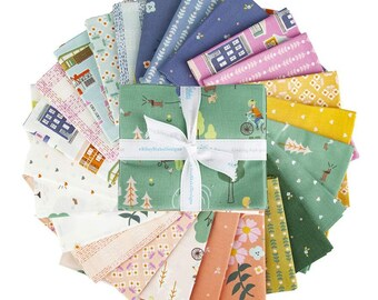 Fat Quarter Bundle COMMUNITY by Citrus & Mint Designs for Riley Blake Designs - 24 fabrics ++Store Cut++