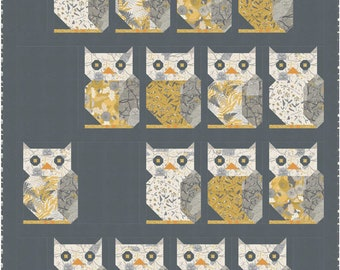 """Through The Woods Quilt Kit using Through The Woods with Pattern by Sweetfire Road - Finished size 49"""" x 58""""  - KIT43110"""