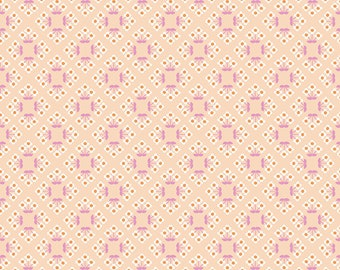 COMMUNITY by Citrus & Mint Designs of Riley Blake Designs - C11104 Patch Blush - 1/2 Yard Increments, Cut Continuously